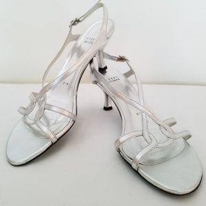 Stuart Weitzman Reversal Sandal Metallic Silver